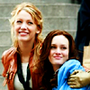 Kate: Blair and Serena smiling