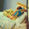 Jennifer: panic; sleeping spencer