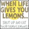 The Gecko of Destiny!: Lemons
