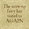 Carrie Leigh: screw up fairy