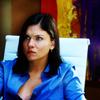 Jackie: Gretchen-Blue Shirt
