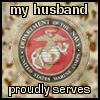USMC - Husband Serves
