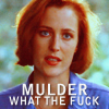 tv // x-files // mulder wtf