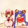 ☆ちびちゃん☆: Chobits - Sumomo & Kotoko