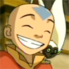 Fritters: A-TLA - Aang - Big grin by shyngi