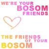 lokifan: bosom friends