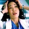 GA Cristina playing with hair