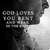 ♥ Kate: My Man: James: God loves you