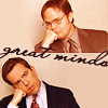 Dwight and Andy head tilt