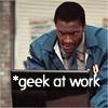 """Leverage:  Alec """"Geek at Work"""""""
