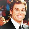 Rache: Actors - Michael C. Hall - Crazy Smile