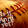 baseball- april