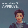 Ohno doesn't approve