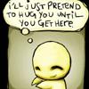 ... i miss hearing you breathe   ♥  lav bunny: misc: pon and zi - hug