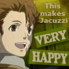 Jacuzzi is very happy