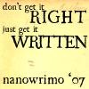 get-written
