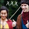 Cait: Merlin: G & M {Geeks}