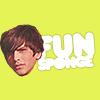 Skins - Because he's a fun sponge