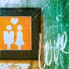 love: orange couple