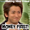Liann: Money first!