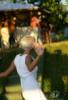танцующая в шапочке...