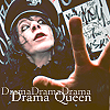 Dope Hat: whippy drama queen