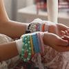 every Starbucks should have a polar bear: Fashion: bead bracelets