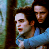 edward bella flying running