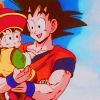 he just wants your yakisoba: Goku/Gohan | Who's your daddy?