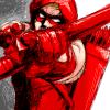 Comics: Roy in uniform