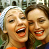 Gossip Girl | Blair + Serena BIG smile :
