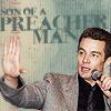 Son of a preacher man.