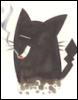 кот с сигаретой