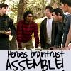 Heroes: braintrust assemble