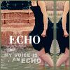 hushies, echo, fountain