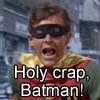 Holy crap Batman
