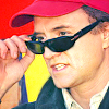 Brad in a baseball cap