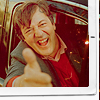 Stephen Fry - thumbs up