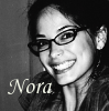 Nora Norwich: Kara Roslin laughing