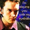 Ianto slaying eyes