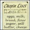 Chopin Liszt
