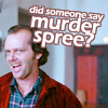 The Shining: Murder spree?!?!