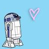star wars - r2d2 heart