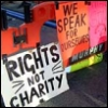 rights not charity