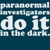 Investigators - In the dark
