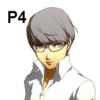Persona 4 Main Character w glasses