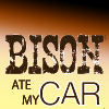 Bison ate my car -