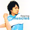 Arashi ☂ Sho's air muscles