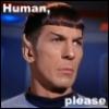 human, please!