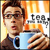 dr who: tea